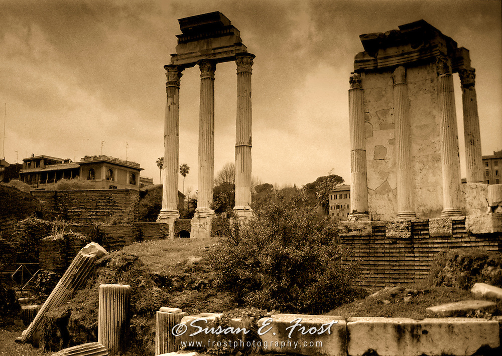 Temples of Antiquity, Rome, Italy