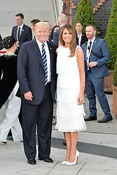 July 7, 2017 - Hamburg, Germany - US-President Donald Trump, First Lady Melania Trump.G20 SUMMIT: Reception and concert at Elbphilharmonie, Hamburg, Germany - 07 Jul 2017.Credit: Timm/face to face (Credit Image: © face to face via ZUMA Press)