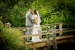 Wedding Photography at the Three Lakes at Westmill Farm