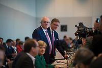 DEU, Deutschland, Germany, Berlin, 25.09.2018: Volker Kauder, der in der heutigen Fraktionssitzung der CDU/CSU als Fraktionsvorsitzender von CDU/CSU abgewählt wurde.