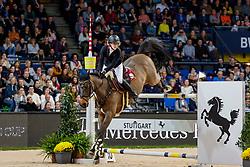 BORMANN Finja (GER), A crazy son of Lavina<br /> Stuttgart - German Masters 2019<br /> MERCEDES GERMAN MASTER<br /> Int. Springprüfung mit Stechen<br /> CSI5*-W<br /> 15. November 2019<br /> © www.sportfotos-lafrentz.de/Stefan Lafrentz