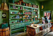 Old general store in Dallas, Texas from the early 1900's