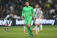 Goalkeeper Ben Foster of West Bromwich Albion looking on. Premier league match, West Ham Utd v West Bromwich Albion at the London Stadium, Queen Elizabeth Olympic Park in London on Saturday 11th February 2017.<br /> pic by John Patrick Fletcher, Andrew Orchard sports photography.