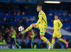 LONDON, ENGLAND - Wednesday, December 10, 2014: Sporting Clube de Portugal's Mauricio in action against Chelsea during the final UEFA Champions League Group G match at Stamford Bridge. (Pic by David Rawcliffe/Propaganda)