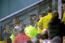 23-10-2009 VOETBAL: FC UTRECHT - RODA: UTRECHT<br /> Utrecht wint met 2-1 van Roda / Opstootje in het Roda vak<br /> ©2009-WWW.FOTOHOOGENDOORN.NL
