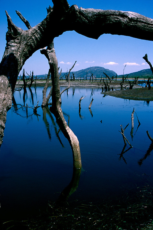 Lapinha da Serra_MG, Brasil...Lago na regiao da Serra do Cipo...A lake in the Serra do Cipo region...FOTO: LEO DRUMOND /  NITRO