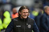 Wycombe Wanderers manager, Gareth Ainsworth during the EFL Sky Bet League 1 match between Portsmouth and Wycombe Wanderers at Fratton Park, Portsmouth, England on 22 September 2018.