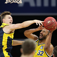 #18 Jakob Hollatz von Baskets Oldenburg , #32 Johannes Thiemann von Alba Berlin   <br /> Basketball, nph0001 1.Bundesliga BBL-Finalturnier 2020.<br /> Halbfinale Spiel 2 am 24.06.2020.<br /> <br /> Alba Berlin vs EWE Baskets Oldenburg <br /> Audi Dome<br /> <br /> Foto: Christina Pahnke / sampics  / POOL / nordphoto<br /> <br /> National and international News-Agencies OUT - Editorial Use ONLY