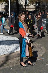 Sofia Sanchez de Betak attending the Miu Miu's Spring-Summer 2016/2017 Ready-To-Wear collection show in Paris, France, on October 5, 2016. Photo by Nicolas Genin/ABACAPRESS.COM