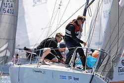 , Kiel - Kieler Woche 17. - 25.06.2017, J-24 - GER 5412 - Henk - Frank Schönfeld - Lübecker Segler Verei