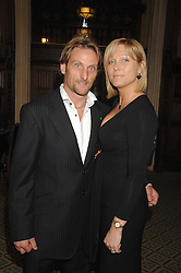 CARL & MICHAELA FOGARTY at a reception for the third NSPCC Hall of Fame Awards Ceremony in the Members Dining Room, The House of Commons, London on 15th May 2007.<br /><br />NON EXCLUSIVE - WORLD RIGHTS