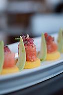 """Causa de salmon con palta"", a dish of the restaurant Limo"
