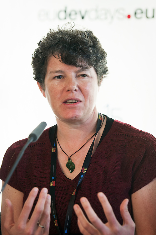 03 June 2015 - Belgium - Brussels - European Development Days - EDD - Financing - Recognising the role of Southern providers of aid in development - Emma Mawdsley , Senior University Lecturer , Department of Geography , University of Cambridge , United Kingdom © European Union