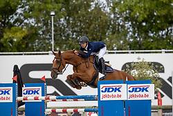 Guisson Tristan, BEL, Naturelle vh Legitahof Z<br /> Belgisch Kampioenschap Jeugd Azelhof - Lier 2020<br /> © Hippo Foto - Dirk Caremans<br />  02/08/2020