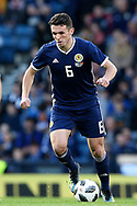 Scotland midfielder John McGinn (6) (Aston Villa)  during the Friendly international match between Scotland and Portugal at Hampden Park, Glasgow, United Kingdom on 14 October 2018.