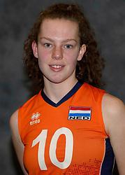 24-12-2019 NED: Photoshoot selection of Orange Youth Girls, Arnhem<br /> Orange Youth Girls 2019 - 2020 / Joanne Brilhuis #10