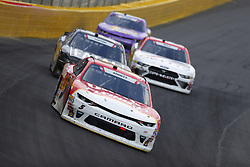 May 26, 2018 - Concord, North Carolina, United States of America - Michael Annett (5) brings his car through the turns during the Alsco 300 at Charlotte Motor Speedway in Concord, North Carolina. (Credit Image: © Chris Owens Asp Inc/ASP via ZUMA Wire)