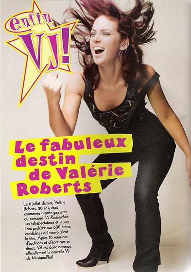 Editorial photography. VJ Valérie Roberts. Rebelle Magazine. 2007.