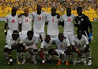 Photo: Steve Bond/Richard Lane Photography.<br />Senegal v South Africa. Africa Cup of Nations. 31/01/2008. Senegal line up