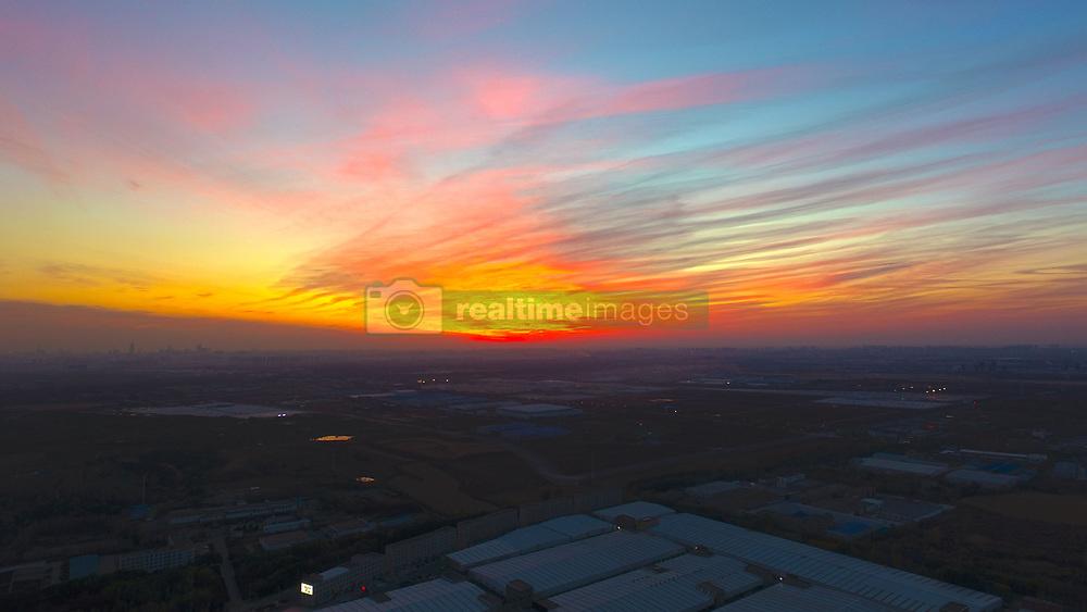 November 1, 2018 - Shenyang, Shenyang, China - Shenyang,CHINA-Stunning scenery of Shenyang-Jilin Expressway in Shenyang, northeast China's Liaoning Province. (Credit Image: © SIPA Asia via ZUMA Wire)