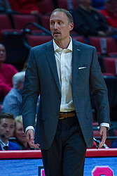 NORMAL, IL - October 23:  Dan Muller during a college basketball game between the ISU Redbirds and the Truman State Bulldogs on October 23 2019 at Redbird Arena in Normal, IL. (Photo by Alan Look)