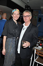 THOMASINA MIERS and FRANC RODDAM at a Mexican Feast cooked by Thomasina Miers in aid of the charity Too Many Women held at Wahaca Soho, 80 Wardour Street, London on 9th November 2011.