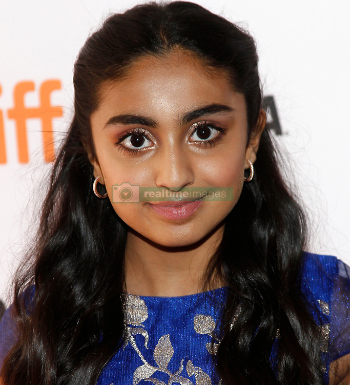"""""""The Breadwinner'"""" premiere at the 2017 Toronto International Film Festival held at the Winter Garden Theatre. 10 Sep 2017 Pictured: Saara Chaudry. Photo credit: JPA/AFF-USA.com / MEGA TheMegaAgency.com +1 888 505 6342"""