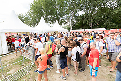 30.07.2017, Donauinsel, Wien, AUT, FIVB Beach Volleyball WM, Wien 2017, im Bild der Haupteingang // the main entrance during the 2017 FIVB Beach Volleyball World Championships at the Donauinsel in Wien, Austria on 2017/07/30. EXPA Pictures © 2017, PhotoCredit: EXPA/ Sebastian Pucher