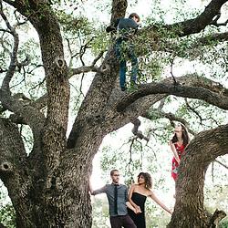 A backyard wedding in Temecula, California.