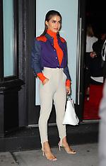 Calvin Klein arrivals - 12 Sept 2018