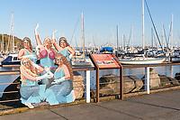 Divine Divas of the Deep, Cape Sante Marina, Anacortes Washington