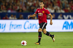 July 15, 2017 - Carson, California, U.S - Manchester United M Henrikh Mkhitaryan (22) in action during the summer friendly between Manchester United and the Los Angeles Galaxy at the StubHub Center. (Credit Image: © Brandon Parry via ZUMA Wire)