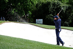 May 3, 2019 - Charlotte, NC, U.S. - CHARLOTTE, NC - MAY 03: Phil Mickleson plays his ball from the bunker on 13 in round two of the Wells Fargo Championship on May 03, 2019 at Quail Hollow Club in Charlotte,NC. (Photo by Dannie Walls/Icon Sportswire) (Credit Image: © Dannie Walls/Icon SMI via ZUMA Press)