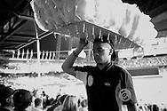 2011 September 12 - Cotton candy sales. Safeco Field, Seattle, WA, USA. Copyright Richard Walker