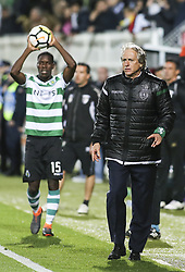 April 30, 2018 - Na - Portimão, 04/28/2017 - Portimonense received this evening the Sporting CP in game to count for the 32nd day of the 1st Liga 2017/2018, in the Municipal Stadium of Portimão. Jorge Jesus  (Credit Image: © Atlantico Press via ZUMA Wire)