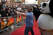 JACK BLACK,  Film premiere of Kung Fu Panda. Vue West End. Leicester Sq. London. 26 June 2008.  *** Local Caption *** -DO NOT ARCHIVE-© Copyright Photograph by Dafydd Jones. 248 Clapham Rd. London SW9 0PZ. Tel 0207 820 0771. www.dafjones.com.