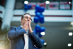 26.04.2019, Lugnercity, Wien, AUT, FPÖ, Wahlkampfauftakt zur EU-Wahl. im Bild Vizekanzler Heinz-Christian Strache (FPÖ) // Austrian Vice Chancellor Heinz-Christian Strache during campaign opening of the Austrian Freedom Party due to EU elections in Vienna, Austria on 2019/04/26. EXPA Pictures © 2019 PhotoCredit: EXPA/ Michael Gruber