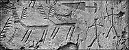 Sacred Stone - Black and white photo art print of prehistoric Rock Petroglyphs at Massi dei Cemmo  by Paul Williams. Prehistoric Rock Petroglyphs at Massi dei Cemmo Archaeological Site, Capo di Ponti, Lombardy Italy