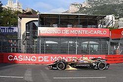 May 11, 2019 - Monaco, Monaco - 25 French One time Formula E World Champion Jean Eric Vergne of DS Automobiles Formula E Team Techeetah drive her single-seater during the 3rd edition of Monaco E-Prix, in port neighborhood in Monaco, France  (Credit Image: © Andrea Diodato/NurPhoto via ZUMA Press)