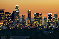 Los Angeles Skyline @ Sunset