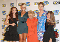 Billie Faiers; Nanny Pat; Lydia Bright Disney Lemonade Mouth Gala Premiere, BAFTA, Piccadilly, London, UK, 25 August 2011:  Contact: Rich@Piqtured.com +44(0)7941 079620 (Picture by Richard Goldschmidt)