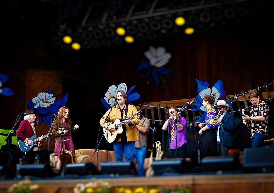 Darrell Scott at Telluride Bluegrass Festival