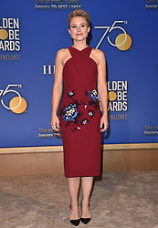 75th Annual Golden Globe Awards Nominations Announcement. The Beverly Hilton Hotel, Beverly Hills, CA. Pictured: Simone Alexandra Johnson. EVENT December 11, 2017. 11 Dec 2017 Pictured: Kristen Bell. Photo credit: AXELLE/BAUER-GRIFFIN/MEGA TheMegaAgency.com +1 888 505 6342