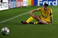 Photo: Paul Thomas.<br />PSV Eindhoven v Liverpool. UEFA Champions League, Quarter Final, 1st Leg. 03/04/2007.<br /><br />Steven Gerrard of Liverpool.