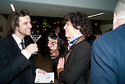 ALEXIS COUTIN; EDOUARD BURGEAT;, Ron Arad; Restless. Cocktail reception hosted by Kate Bush of the Barbican and Tony Chambers of Wallpaper magazine. Barbican art Gallery. London. 17 September 2010