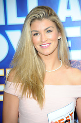Image ©Licensed to i-Images Picture Agency. 11/06/2014. London, United Kingdom. Amy Willerton attends the first night of Alexandra Burke appearing in the <br /> starring role of The Bodyguard, at the  Adelphi theatre. Picture by Chris Joseph / i-Images