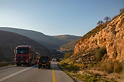 Highway 90 is the longest Israeli road, at about 480 kilometres (300 mi), and stretches from Metula and the northern border with Lebanon, along the western side of the Sea of Galilee, through the Jordan River Valley, along the western bank of the Dead Sea (making it the world's lowest road), through the Arabah valley, and until Eilat and the southern border with Egypt on the Red Sea. The central section of the road traverses the Israeli-occupied West Bank; while it passes near the city of Jericho, it runs through Area C and does not enter areas controlled by the Palestinian Authority.