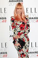 Amber Le Bon, ELLE Style Awards 2016, Millbank London UK, 23 February 2016, Photo by Richard Goldschmidt