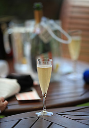 A general view of a glass of Champagne during day two of Royal Ascot at Ascot Racecourse. PRESS ASSOCIATION Photo. Picture date: Wednesday June 21, 2017. See PA story RACING Ascot. Photo credit should read: John Walton/PA Wire. RESTRICTIONS: Use subject to restrictions. Editorial use only, no commercial or promotional use. No private sales