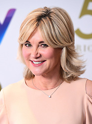 Anthea Turner attending the TRIC Awards 2019 50th Birthday Celebration held at the Grosvenor House Hotel, London.